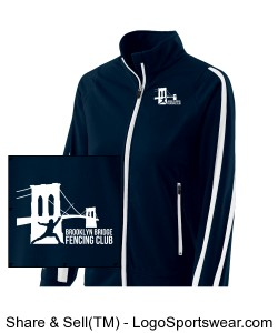 BBFC Women's Warm-up Jacket Design Zoom